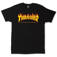 "Thrasher Magazine ""Flame"" T-Shirt (black)"
