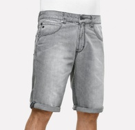Reell Rafter shorts (grey denim)