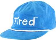 Tired Simple Logo Snapback (royal blue)