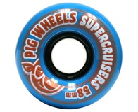 Pig Supercruisers 58mm blue