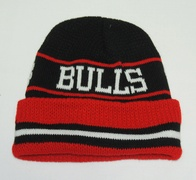 NBA Chicago Bulls Beanie (black/red)