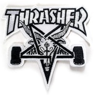 "Thrasher Magazine ""Skategoat"" Patch (white)"