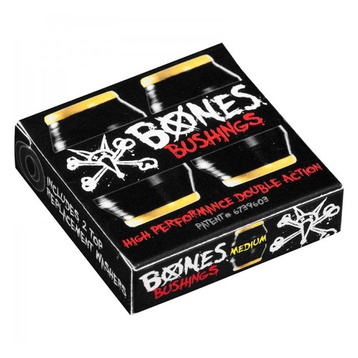 Bones Hardcore Black Bushings Medium (91A)