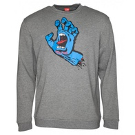 Santa Cruz Screaming Hand Crew Sweater (heather)