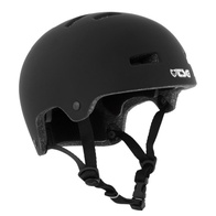 TSG Evolution Youth Solid Helm (satin black)