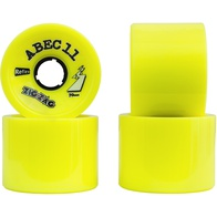 Abec 11 Reflex Zigzag 70mm(yellow)