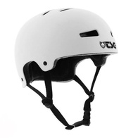 TSG Evolution Solid Helm (satin white)