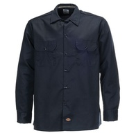 Dickies L/S Slim Shirt (Dark Navy)