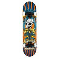 "Birdhouse Emblem Circus Complete 7.75"" (orange)"