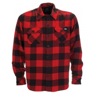 Dickies Sacramento Flannel Shirt (red)