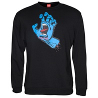 Santa Cruz Screaming Hand Crew Sweater (black)