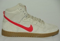 Nike SB Dunk High Pro (birch/hyper red)
