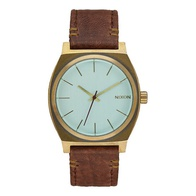 Nixon Time Teller (brass/green crystal/brown)