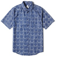 Altamont Bowed Short Sleeve Woven Shirt (indigo)