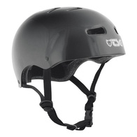 TSG Skate/BMX Helm (injected black)