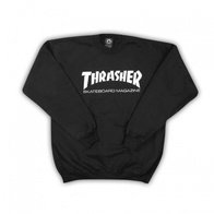 "Thrasher Magazine ""Skate Mag"" Crew Sweater (black)"