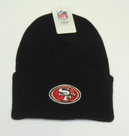 NFL San Francisco 49ers Beanie (black)
