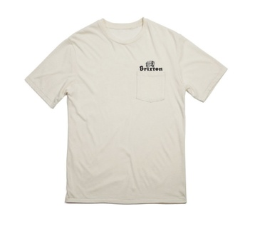 Brixton Tanka pocket tee (cream)