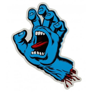 Santa Cruz Classic Screaming Hand Sticker 6""
