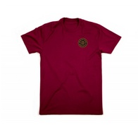 Brixton Oath S/S Standard tee (burgundy/gold)