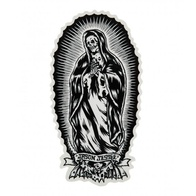 Santa Cruz Bone Guadalupe Sticker 6""