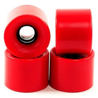Penny Solid Wheel Red 59mm