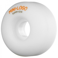 Mini Logo C-cut 52mm wheels (white)