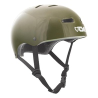 TSG Skate/BMX Solid Helm (injected olive)