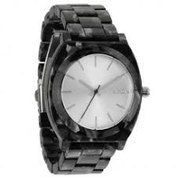 Nixon Time Teller Acetate Leather (grey granite)