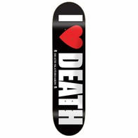 "Death Skateboards ""I Love Death"" Deck (8.0"")"