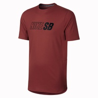 Nike SB Skyline Dri-Fit Graphic Tee (dark cayenne)