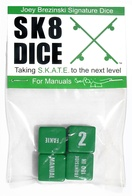 Sk8Dice - manuals (green)