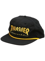 "Thrasher Magazine ""Rope"" Cap (black)"