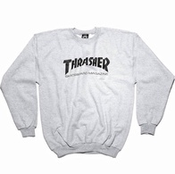 "Thrasher Magazine ""Skate Mag"" Crew Sweater (grey)"
