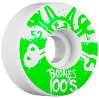 Bones 100s 10 Wheel Natural 100A 52mm