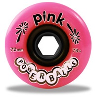 Pink Powerballs Wheels by Abec 11 (pink/78A)