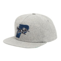 Palace Roadrunner Wool Snapback (puritan grey)