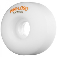 Mini Logo C-cut 53mm wheels (white)