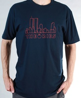 "Theories Of Atlantis ""Big Apple"" Shirt (navy)"