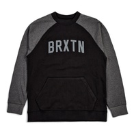Brixton Hamilton Crew Fleece (washed black)