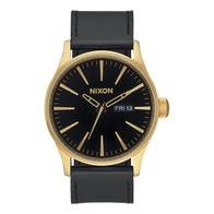 Nixon Sentry Leather (gold/black)