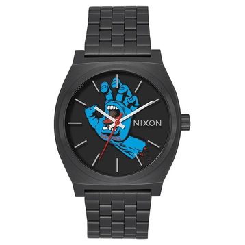 Nixon Time Teller (black/screaming hand)