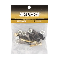 Smucks Phillips Hardware Black/Gold 1 inch