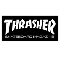 "Thrasher Magazine ""Skate Mag"" Sticker Large (black)"