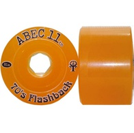 Abec 11 Limited edition Flashback 70mm (amber)