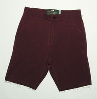 Fourstar Carroll sign short (burgundy)