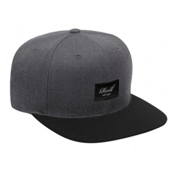 Reell Pitchout Snapback (heather charcoal/black)