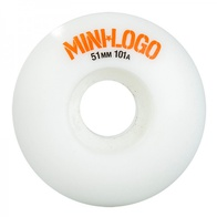 Mini Logo C-cut 51mm wheels (white)